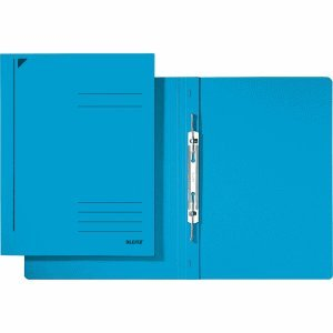 Prim/ärkarton Heftung A4 kfm Esselte Leitz Spiralhefter blau