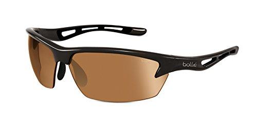 Bolle Bolt Sunglasses, Shiny Black/Modulator V3 Golf Oleo AF