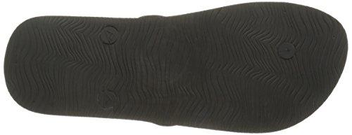 Reef Switchfoot Prints, Sandalias Flip-Flop para Hombre Varios colores (Black Splatter)