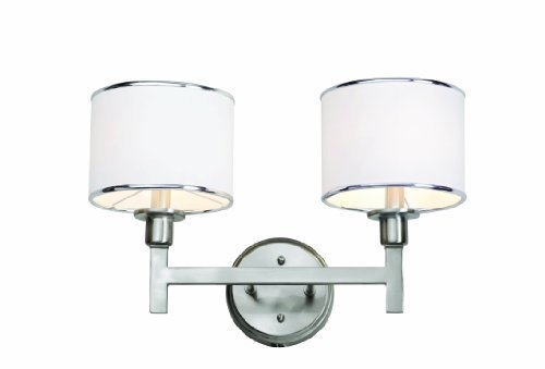 Trans Globe Lighting 1052 BN Cadence Two Light Wall Sconce by Bel Air Lighting (Two Bn Light)