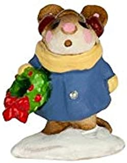 product image for Wee Forest Folk M-087m Mini Holly Mouse (New 2019)