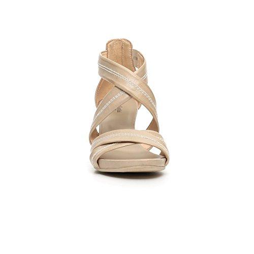 Nero Giardini Sandalen mit hohen Absätzen P717590D 410 LEON SAND TIRE VIENNA NA 6199 neue Frühlings- und Sommerkollektion 2017