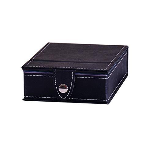 - Kekailu Faux Leather Folding Desktop Storage Box Cosmetic Holder Organizer With Mirror Pink S