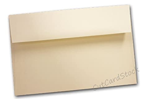 Neenah Classic Crest Natural White A9 Envelopes - 25 Pk - Classic Crest Envelope Natural