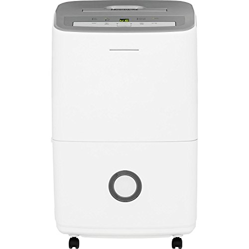 Frigidaire 70-Pint Dehumidifier with Effortless Humidity Control, White (Renewed)