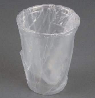 Northeast Hotel Supply 9 oz Plastic Cups Indivudially Wrapped. 1000/cs