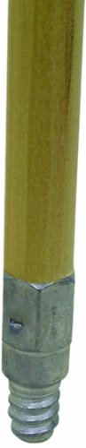 (O-Cedar Commercial Wood Handle with Metal Threads, 60-Inch by 15/16-Inch)