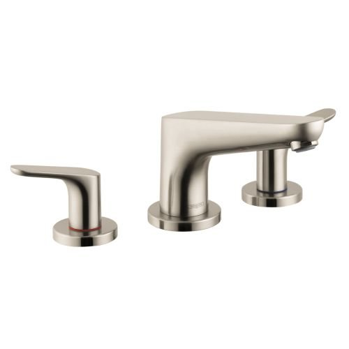 Hansgrohe 04365820 Focus E 3 Hole Roman Tub, Brushed Nickel