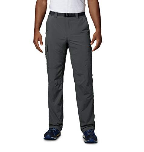 Columbia Men's  Men's Silver Ridge Cargo Pant , Grill, 34×32