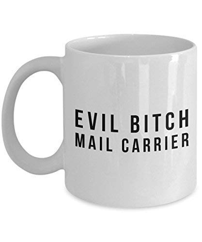Funny Mail Carrier 11Oz Coffee Mug Gift for Postal Carrier Worker or Postmaster Service 2019 Version - The Mail Post Souvenirs Ceramic Cup Present Ideas for Mailbox Novelty -