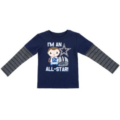 buy popular df3fc 009bf Dallas Cowboys Toddler Frank Long Sleeve Tee