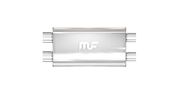 12599 Magnaflow Performance Exhaust Satin Stainless Steel Universal Fit Muffler