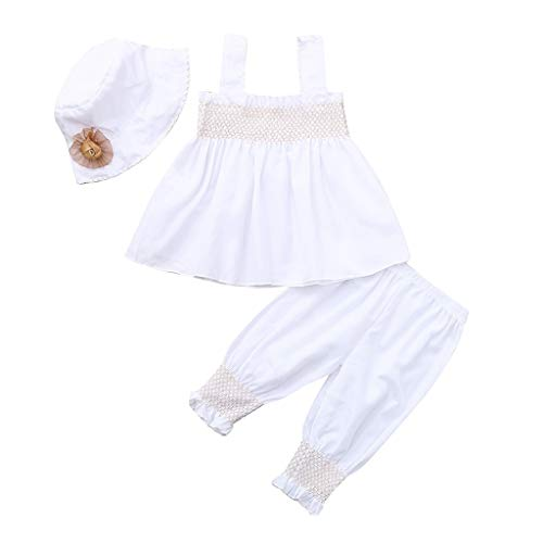 53667ba1c6b1 Newborn Toddler Baby Girls 2019 Summer Fashion Clothes Outfit Cuekondy Cute  Sleeveless Vest Tops+Pants