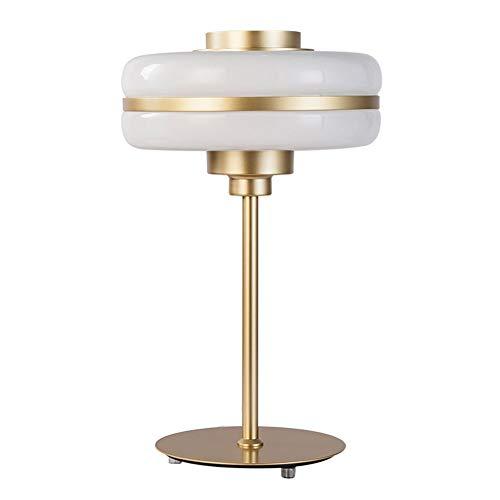 XHJZ Decorative Table Lamp, Bedroom Crystal Glass Bedside Lamps, Designer Living Room Sample Room Entrance Side Cabinet Decorative Desk Lamps ()