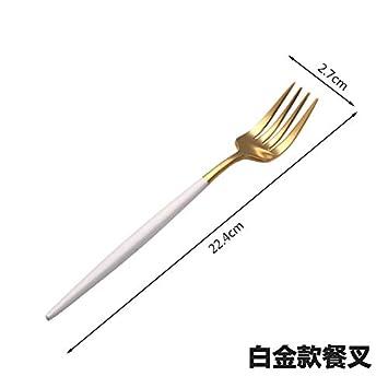 304 Juego de cuchillo y tenedor para carne de acero ...