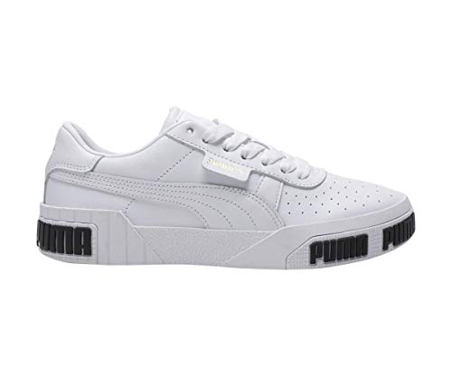 Puma Damen Cali Bold WN's' Sneaker, White-Metallic Gold 01, 38 EU 2