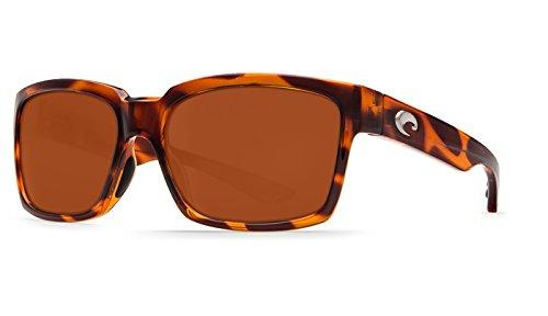Costa Del Mar Playa Polarized Sunglasses Honey Tortoise Frame Copper