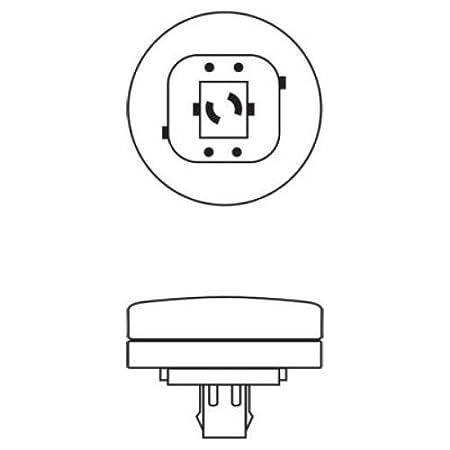 5200-Lumen Quad Biax Light Bulb with Gx24-Q6 Base GE Lighting Energy Smart CFL 48867 70-Watt 10-Pack