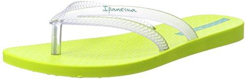 Ipanema Bossa Fem, Chanclas para Mujer Mehrfarbig (yellow/clear)