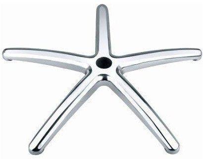 8 opinioni per Base in Metallo Spazzolato con Ruote per Sedia Da Ufficio di Alta Qualità