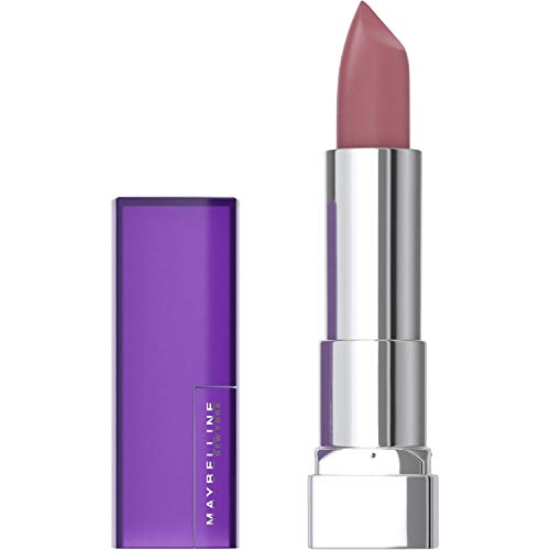 Maybelline New York Color Sensational Nude Lipstick Matte Lipstick, Mauve It, 0.15 Ounce (Pack of 1)