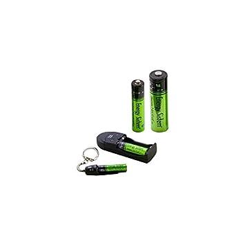 Energy Sistem ENE11AAAAA - Cargador USB para pilas AA/AAA
