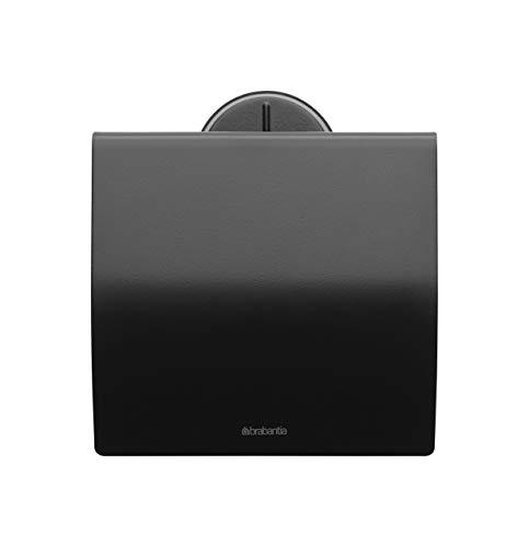 Brabantia Toilet Paper Holder, Accessories, Stainless Steel Black, ()