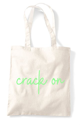 Tote Statement Hashtag Bag Quote On Crack Shopper Natural xSgOqInfw
