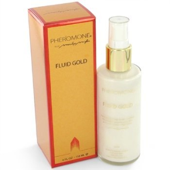 Pheromone Fluid - PHEROMONE by Marilyn Miglin FLUID GOLD BODY LOTION 4 OZ
