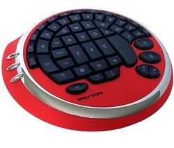Wolfking Game Pad (Warrior Key Pad - Red)
