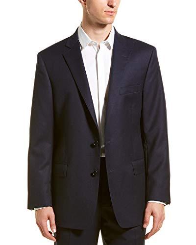 Brooks Brothers Mens Regent Fit Wool Sport Coat, 40R, Blue