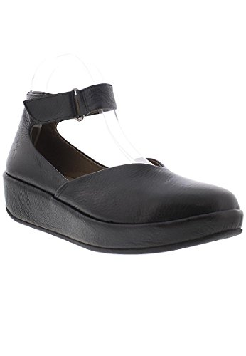 Fly London Womens Bela 785 Leather Shoes Black