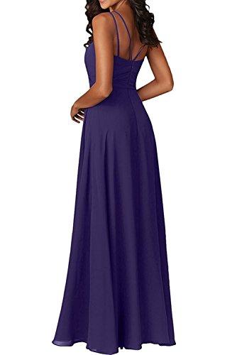 mia La Braut Tanzenkleider Lila Partykleider Abendkleider Gruen Chiffon Herrlich Brautjungfernkleider Linie Ballkleider A Lang drrH1