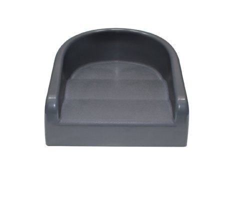 Image of the Prince Lionheart Soft Booster Seat, Charcoal Grey