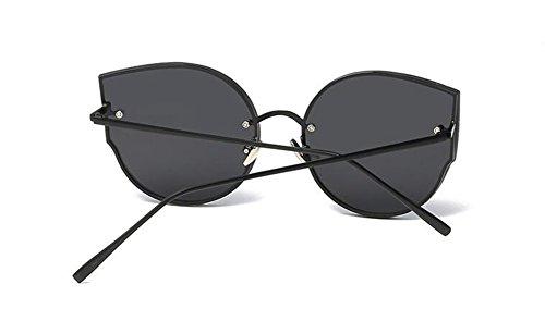 inspirées vintage en polarisées Pièce style Grise cercle de soleil Lennon retro métallique rond du lunettes qUn0tzH