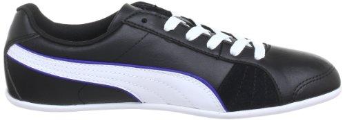 Puma Myndy Wn's - Zapatillas de cuero mujer negro - Schwarz (black-dazzling blue 02)