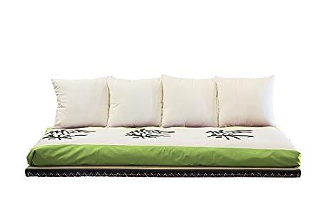 Letto Futon Matrimoniale : Viverezen divano letto futon kanto lux 1 futon 1 tatami 1