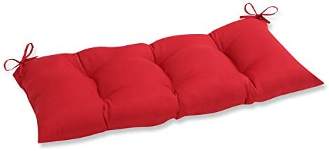 Pillow Perfect Outdoor/Indoor Pompeii Tufted Bench/Swing Cushion