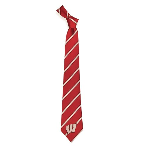 Wisconsin Badgers Collegiate Woven Polyester Necktie