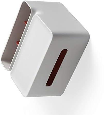 ACHICOO ティッシュボックス 収納ボックス プラスチック シンプルなデザイン ストレージ 多機能 創造的な紙抽出ボックス レストラン用 リビングルーム用 1#