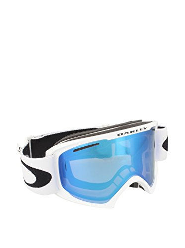 Oakley 59-364 02 XL Snow Goggle, Matte White with Violet Iridium - Goggles White Oakley