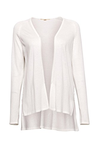 White Gilet Blanc 110 Femme Off Esprit Opwqx7THH