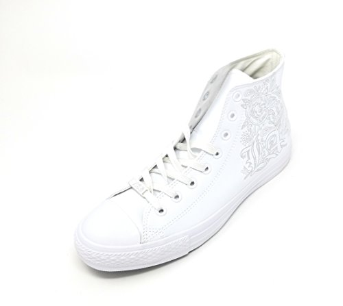 Uppers Star High and Color Casual Chuck Mouse Unisex Taylor All Sneakers Durable and White Top Canvas in Converse White Classic Style qfITXwf