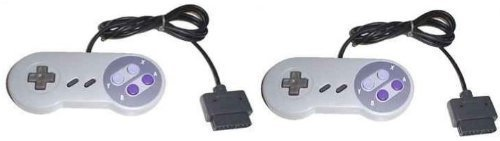 Two (2) Controllers Bundle For Super Nintendo SNES Bulk Packaging [Pack Of 2] by Generic
