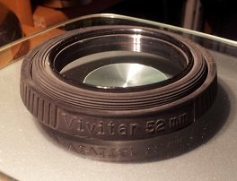 (52mm to 55mm Step Up Adapter Photo Ring Vivitar)