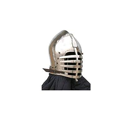 Amazon com : Regent International Medieval Buhurt Helmet
