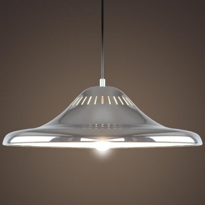 Disc Shaped Pendant Light in US - 7