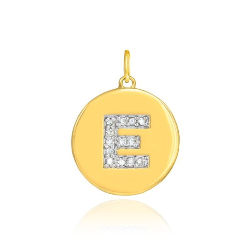 Diamond Initials Charm - 8