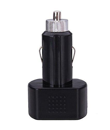 /24/V Indicador de voltaje volt/ímetro comprobador de bater/ía de coche rojo de la pantalla aikesi negro 12/