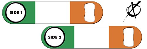 Killer Inked Bottle Opener: Ireland Flag For Sale